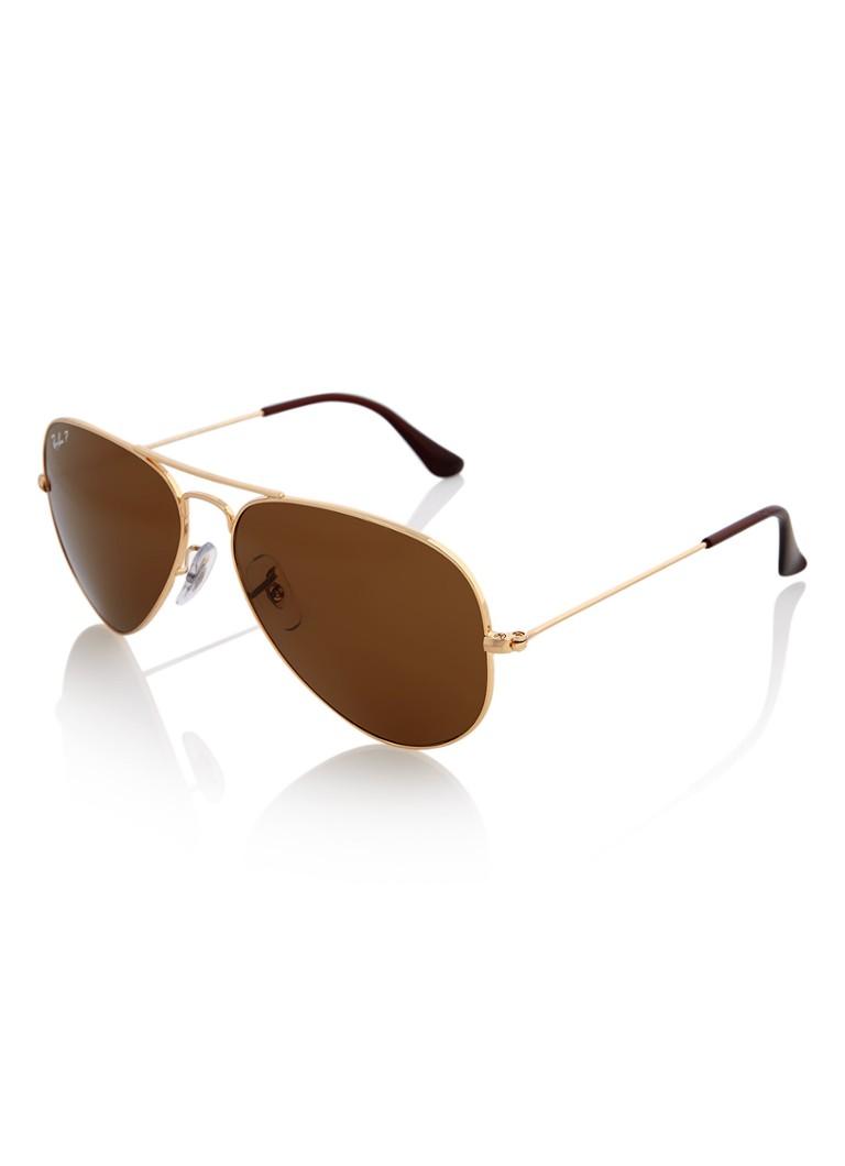 de7d6b25b3e4fb Ray-Ban Unisex zonnebril RB3025 met gepolariseerde glazen • de Bijenkorf