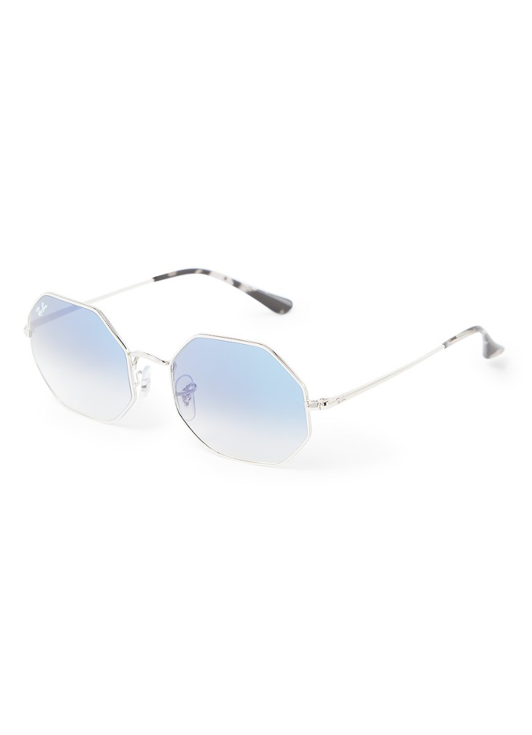 Ray Ban - Zonnebril Octagon RB1972 - Zilver