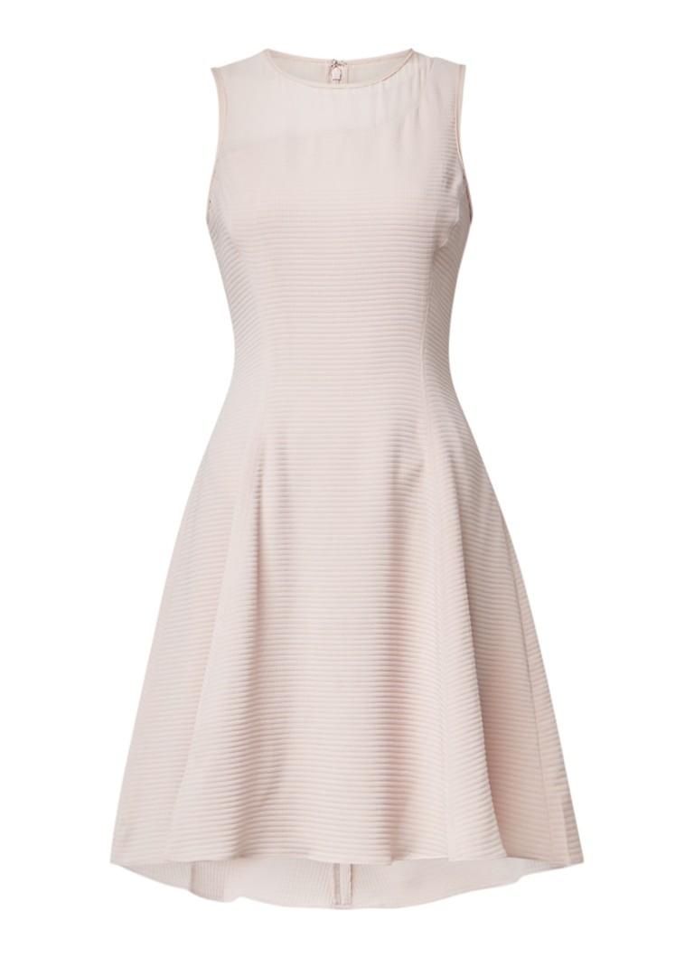 Goede Reiss Fit and flare-jurk met Georgette • Lichtroze • de Bijenkorf NA-64