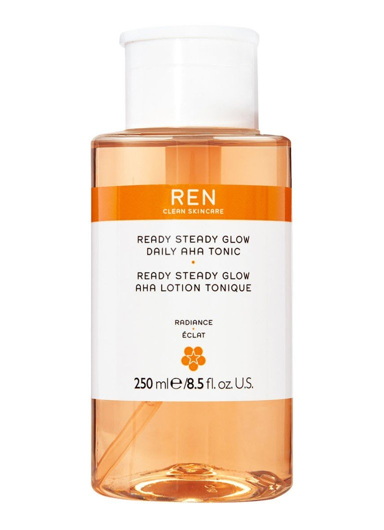 REN - Ready Steady Glow Daily Aha Tonic - toner - null