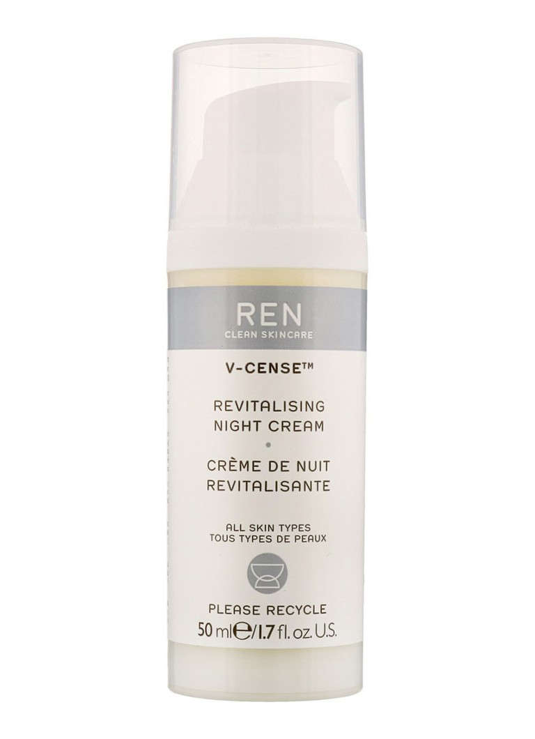 REN - V-Cense Revitalising Night Cream - nachtcrème -