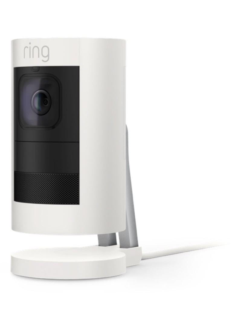 Ring - Stick Up Cam Wired beveiligingscamera - Wit