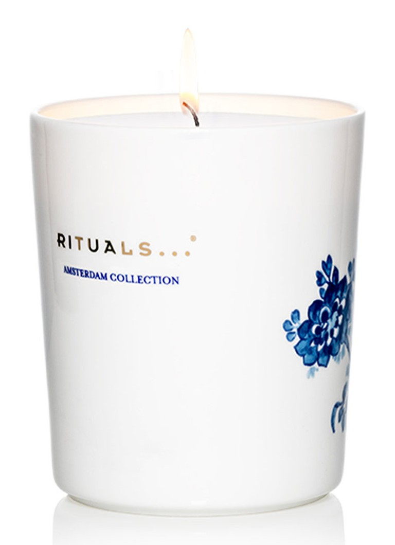 Rituals - Amsterdam Collection Tulip & Japanese Yuzu - geurkaars - Wit