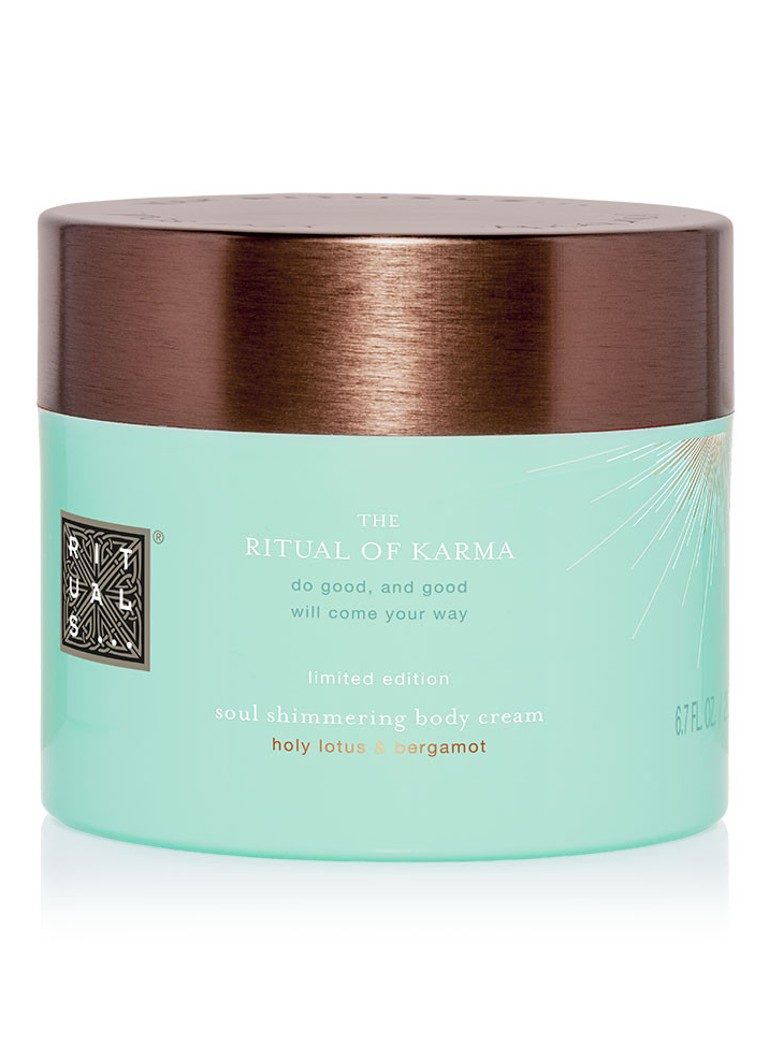 rituals the ritual of karma shimmer body cream de bijenkorf. Black Bedroom Furniture Sets. Home Design Ideas