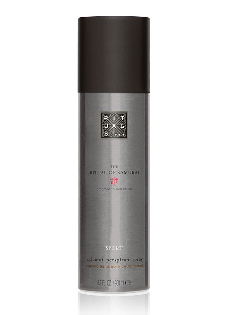 Rituals - The Ritual of Samurai Sport 24h Anti-Perspirant Spray - deodorant - null