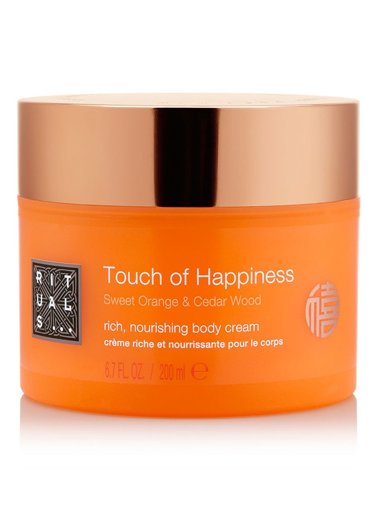 rituals touch of happiness bodycr me bodylotion de. Black Bedroom Furniture Sets. Home Design Ideas
