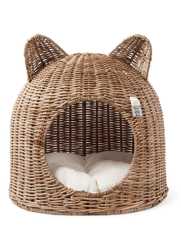 Rivièra Maison - Lovely Kitten kattenmand 41 cm - Naturel
