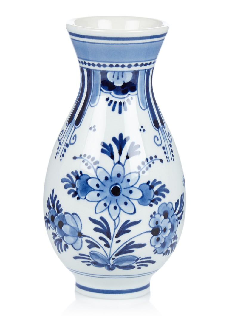 Vaas Delfts Blauw.Royal Delft Delfts Blauw Vaas 12 5 Cm De Bijenkorf
