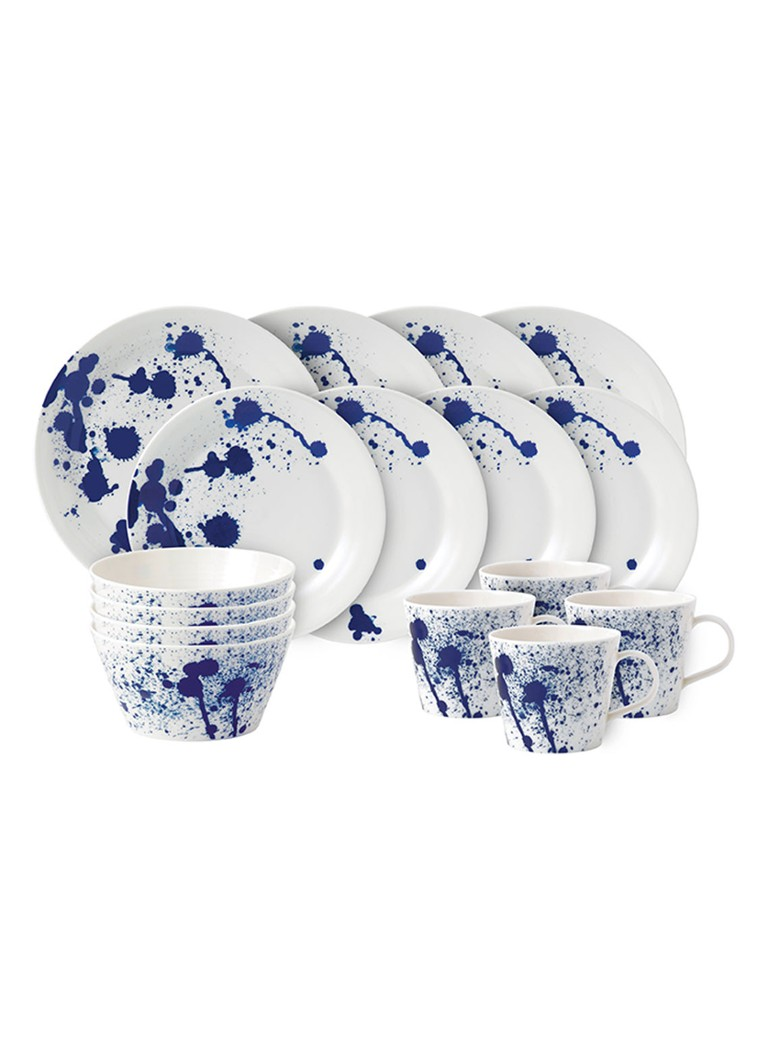 Royal Doulton - Pacific serviesset 16-delig - Gebroken wit