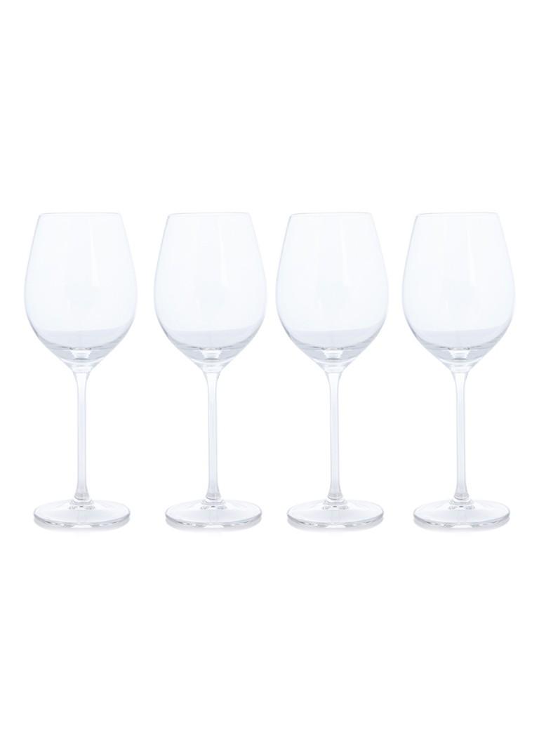 Royal Leerdam Wijnglazen.Royal Leerdam Enology Wijnglas 34 Cl Set Van 4 De Bijenkorf