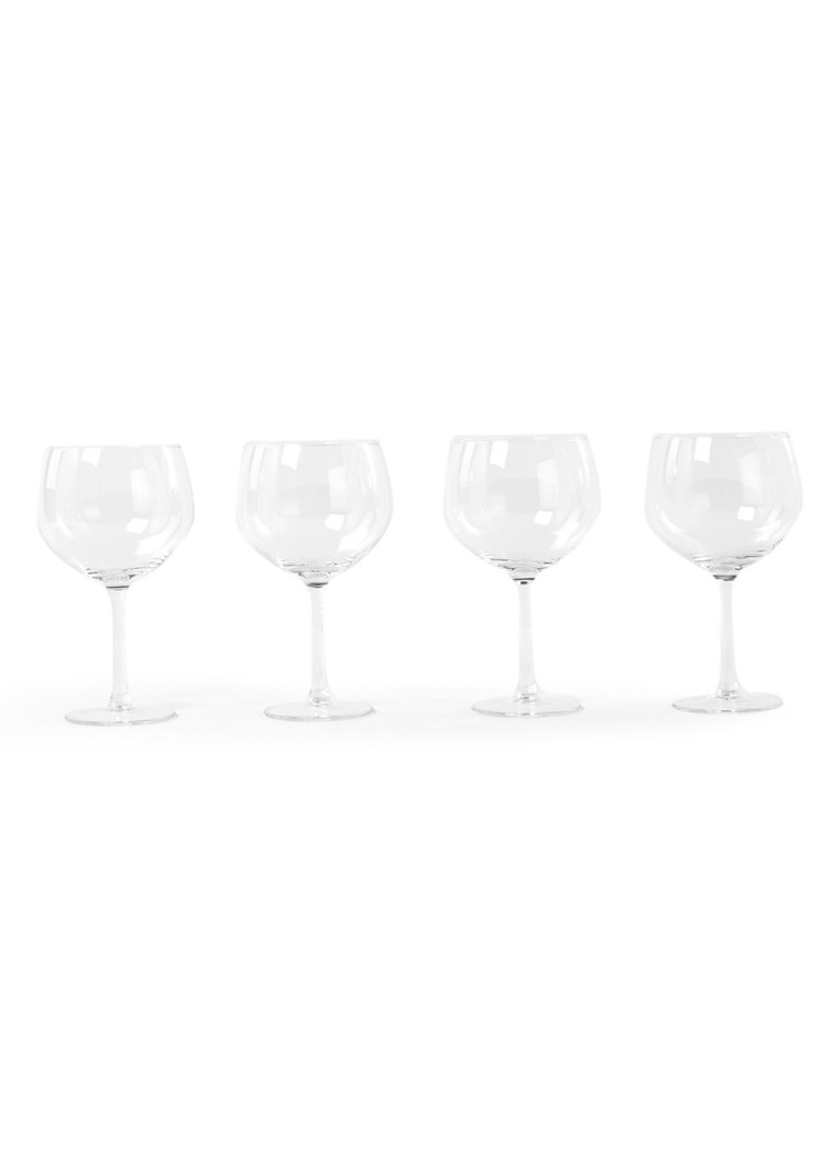 Royal Leerdam - Gin Tonic cocktailglas set van 4 - Transparant