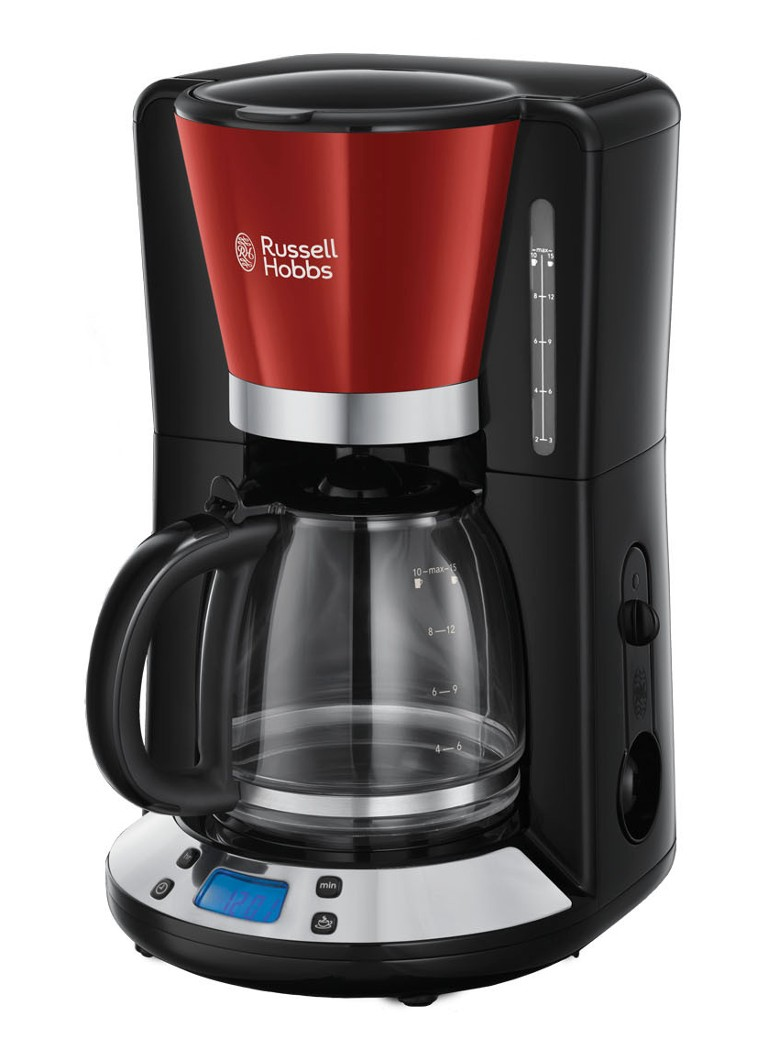 Russell Hobbs - Colours Plus koffiezetapparaat 24031-56 - Rood
