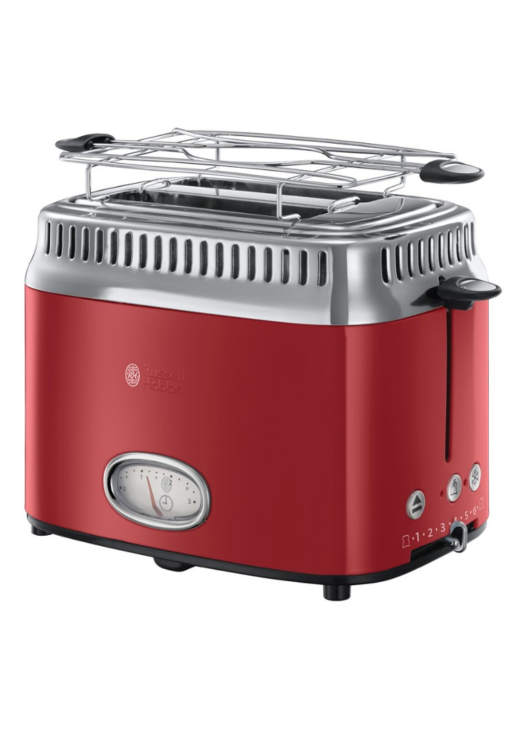 Russell Hobbs - Retro Ribbon broodrooster 2-slots - Rood