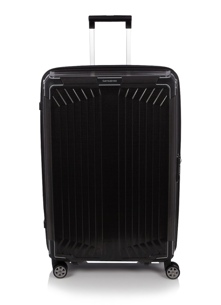 samsonite lite box spinner 75 cm de bijenkorf. Black Bedroom Furniture Sets. Home Design Ideas