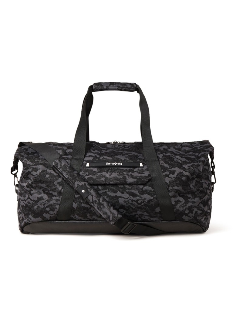 Samsonite - Samsonite NEOKNIT DUFFLE 55/20 - Antraciet