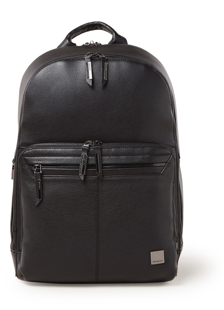 Samsonite - Samsonite SENZIL LPT BACKPACK - Zwart