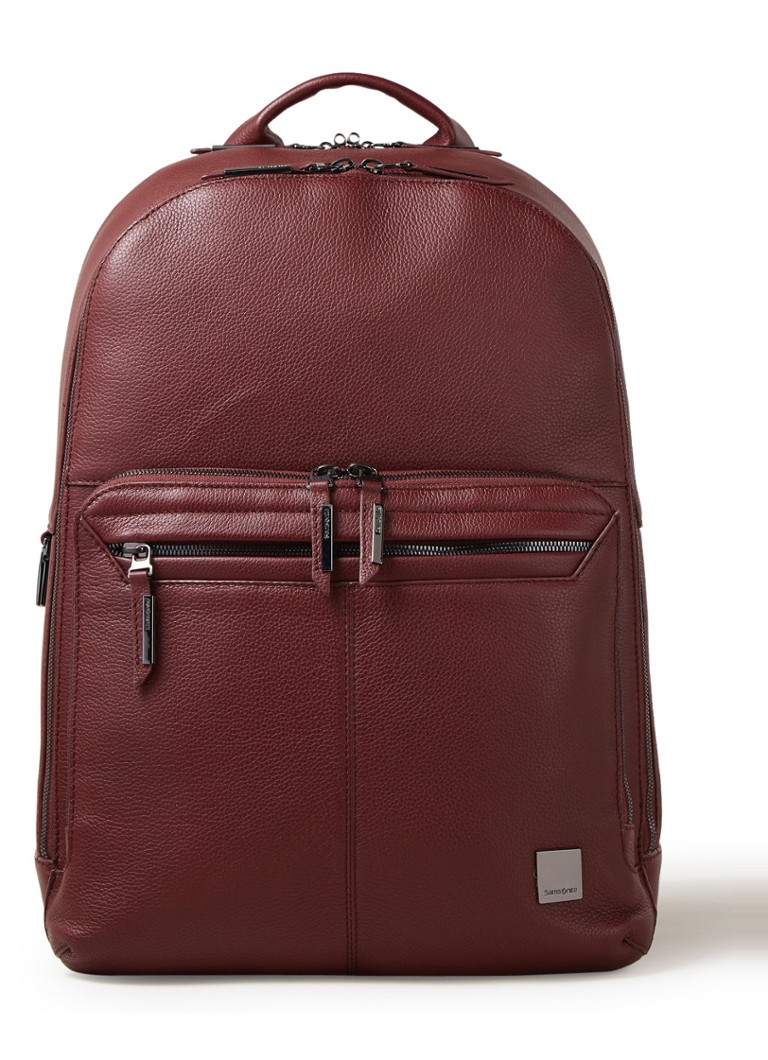 Samsonite - Samsonite SENZIL LPT BACKPACK - Donkerrood