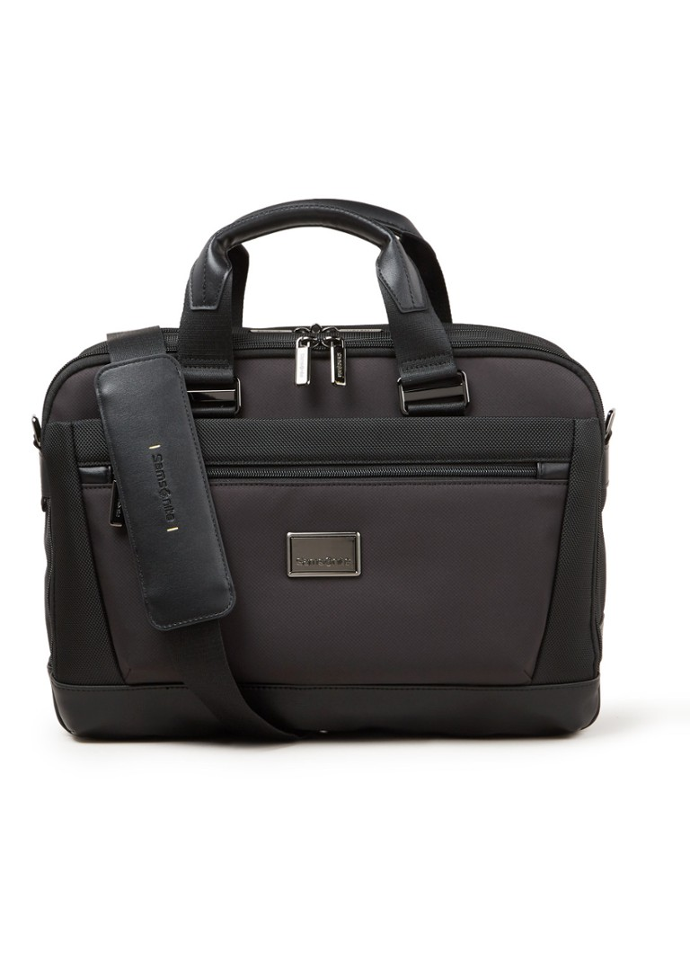 Samsonite - Waymore businesstas met 14 inch laptopvak - unisex - Zwart