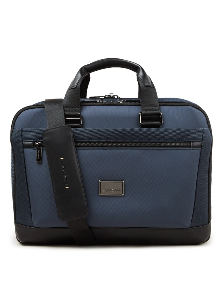 Samsonite - Waymore businesstas met 15 inch laptopvak - unisex - Donkerblauw