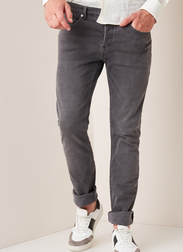 Sandro - Slim fit jeans met stretch - Grijs