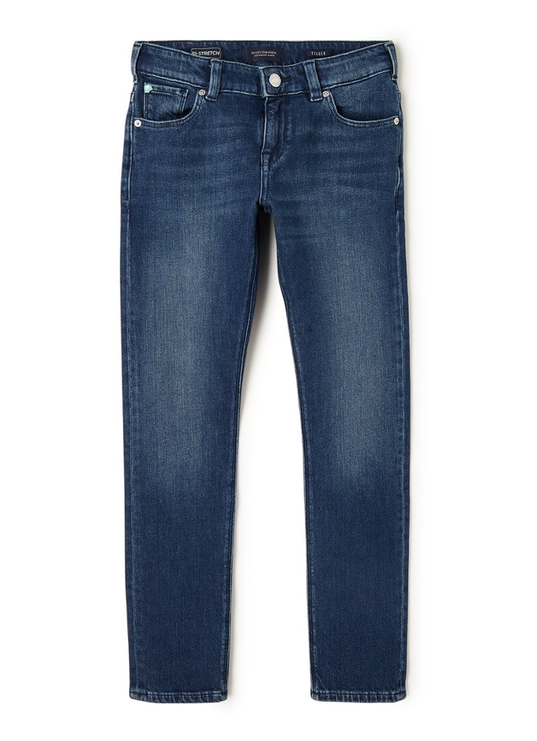 Scotch Shrunk - Skinny fit jeans met faded look - Indigo