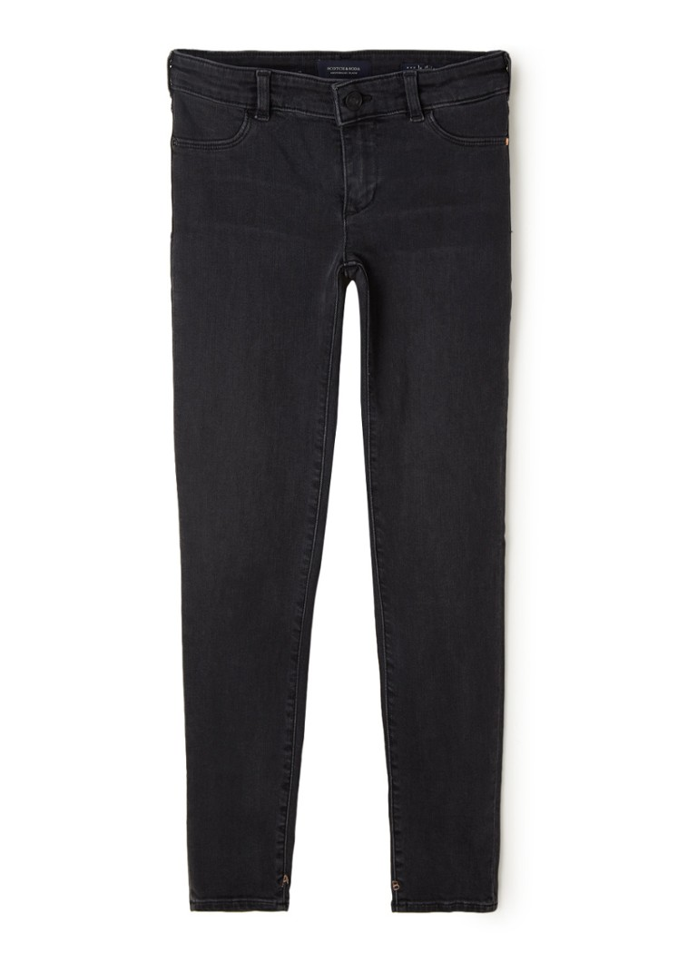 Scotch & Soda - La Milou super skinny fit jeans met stretch - Zwart