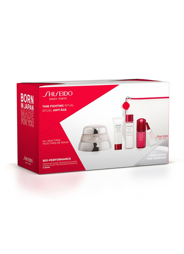 Shiseido - Advanced Super Revitalizing Cream Pouch - Limited Edition verzorgingsset - null