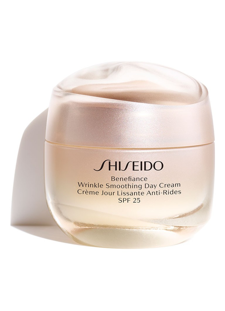 Shiseido - Benefiance Wrinkle Smoothing Day Cream SPF25 - anti-rimpel dagcrème -
