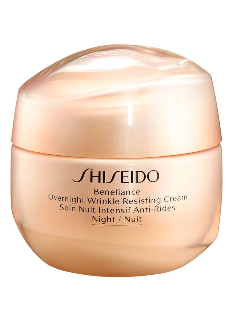 Shiseido - Overnight Wrinkle Resisting Cream - nachtcrème - null