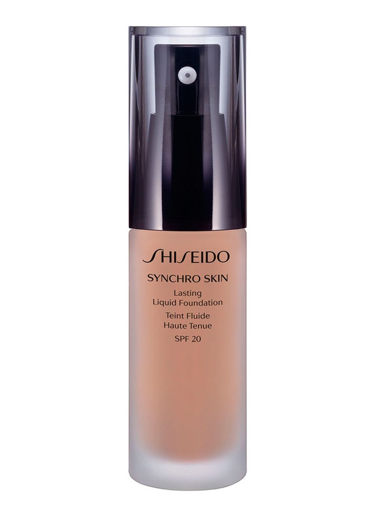 Shiseido - Synchro Skin Lasting Liquid Foundation SPF 20 - 03 Neutral