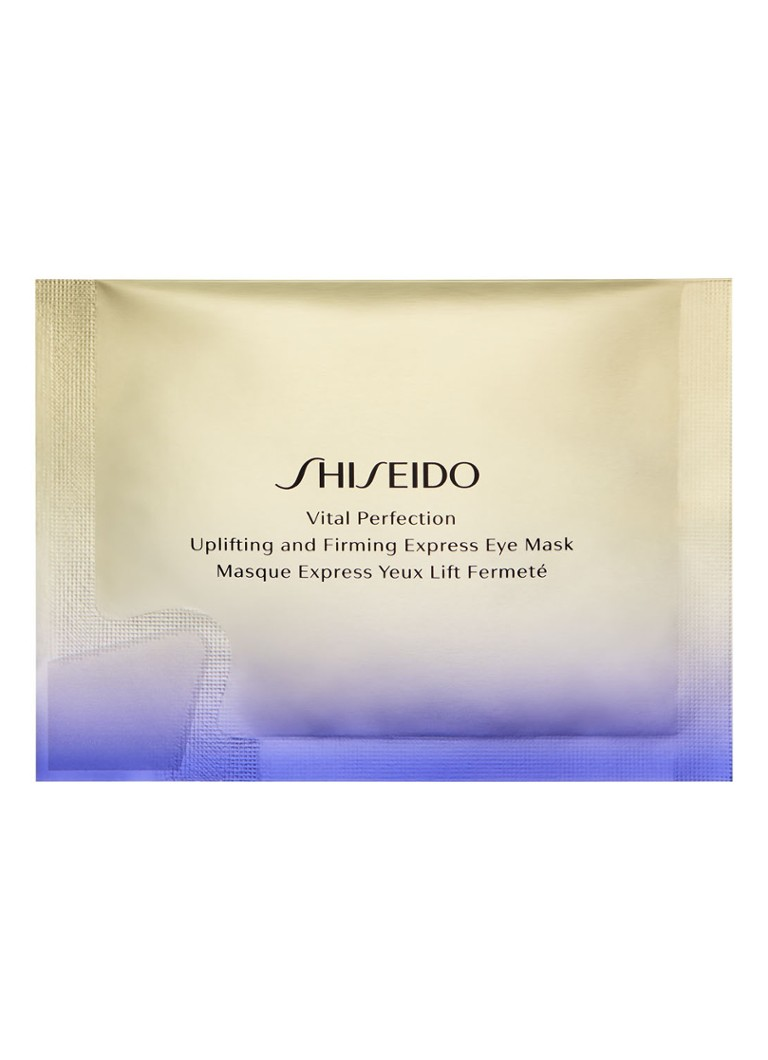 Shiseido - Uplifting and Firming Express Eye Mask - oogmasker - null