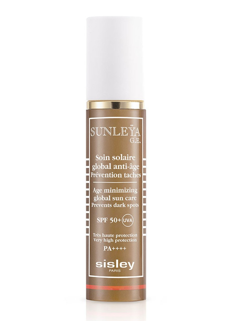 Sisley - Soin Solaire Global Anti-Age SPF 50+ Face - zonnebrand - null