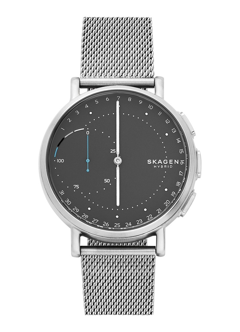 skagen signature hybride smartwatch skt111 de bijenkorf. Black Bedroom Furniture Sets. Home Design Ideas