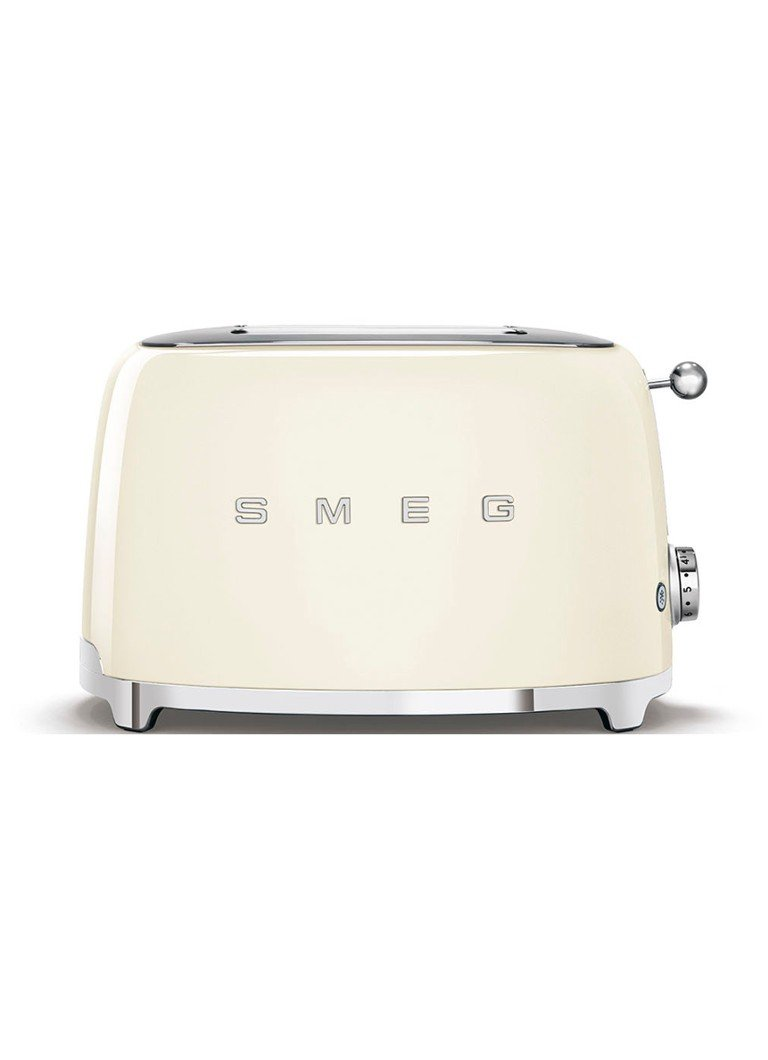 Smeg - 50's Style broodrooster 2-slots TSF01CREU - crème - Creme