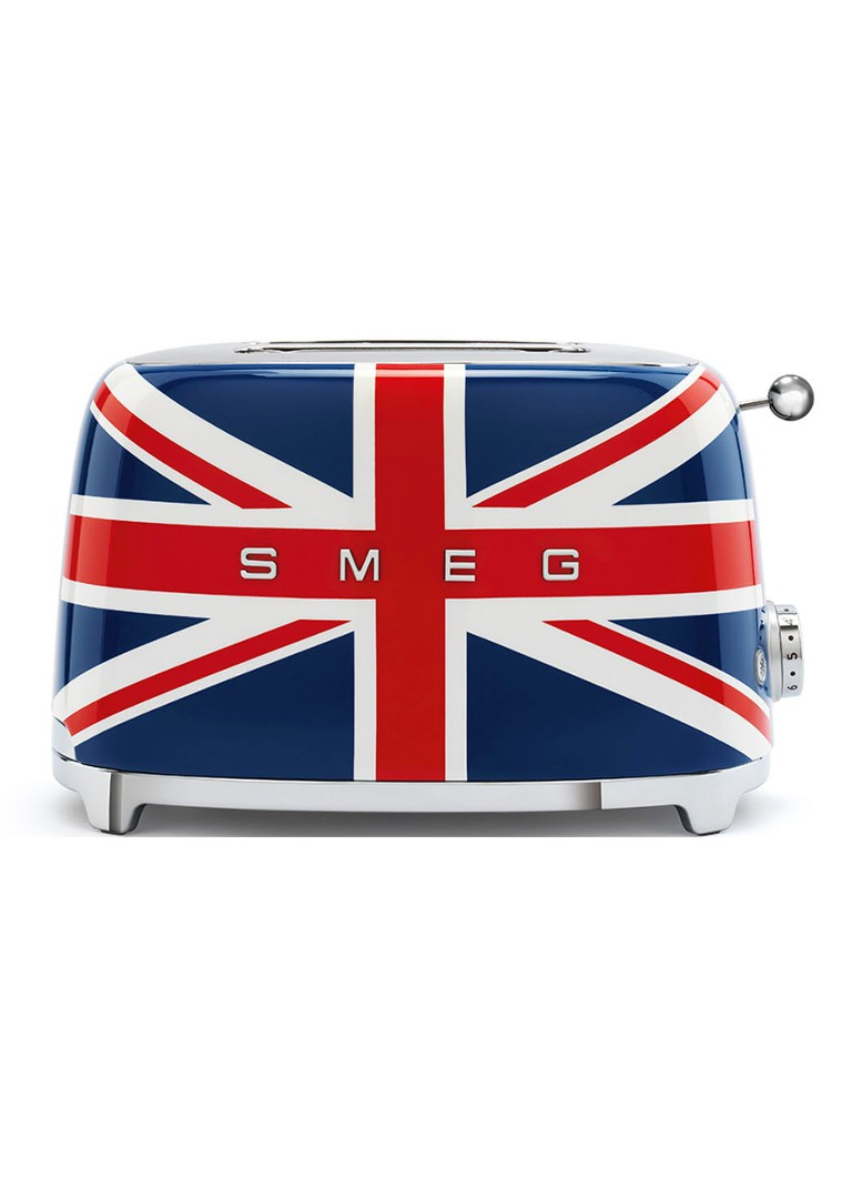 Smeg - 50's Style Union Jack broodrooster 2-slots - Blauw