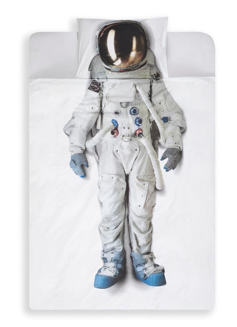 Snurk Astronaut dekbedovertrekset van katoen perkal • de ...