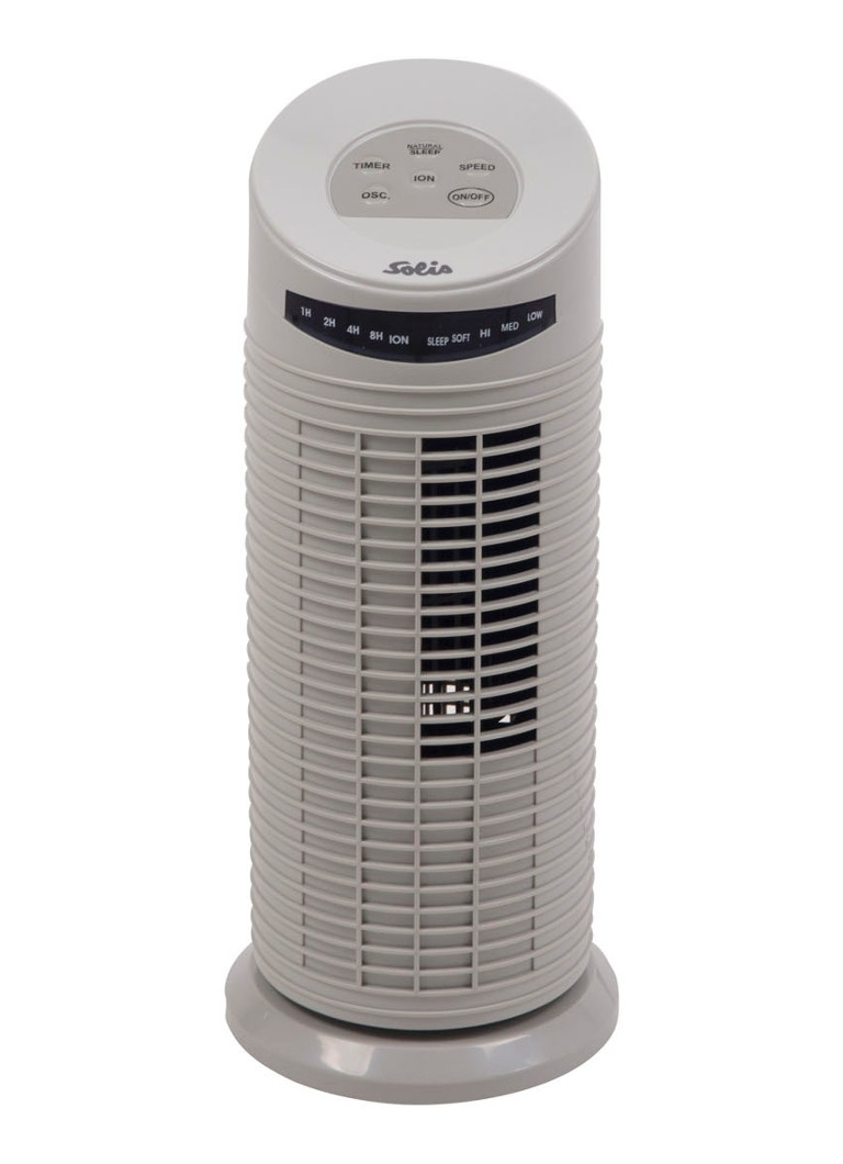Solis - Mini Tower Fan torenventilator type 749, 38 cm hoog - Gebroken wit