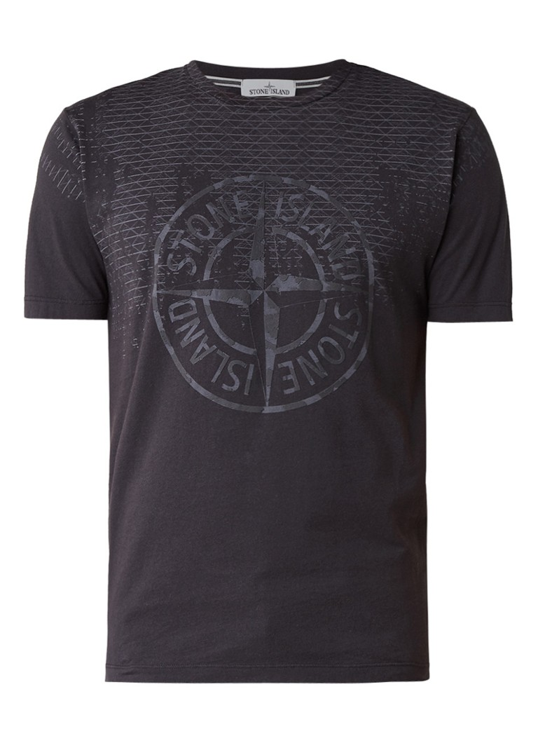 stone island t shirt met logo opdruk 2ns85 de bijenkorf. Black Bedroom Furniture Sets. Home Design Ideas