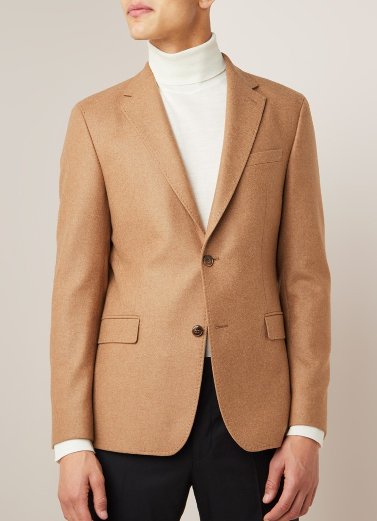 Strellson - Cozer regular fit colbert in wolblend - Camel