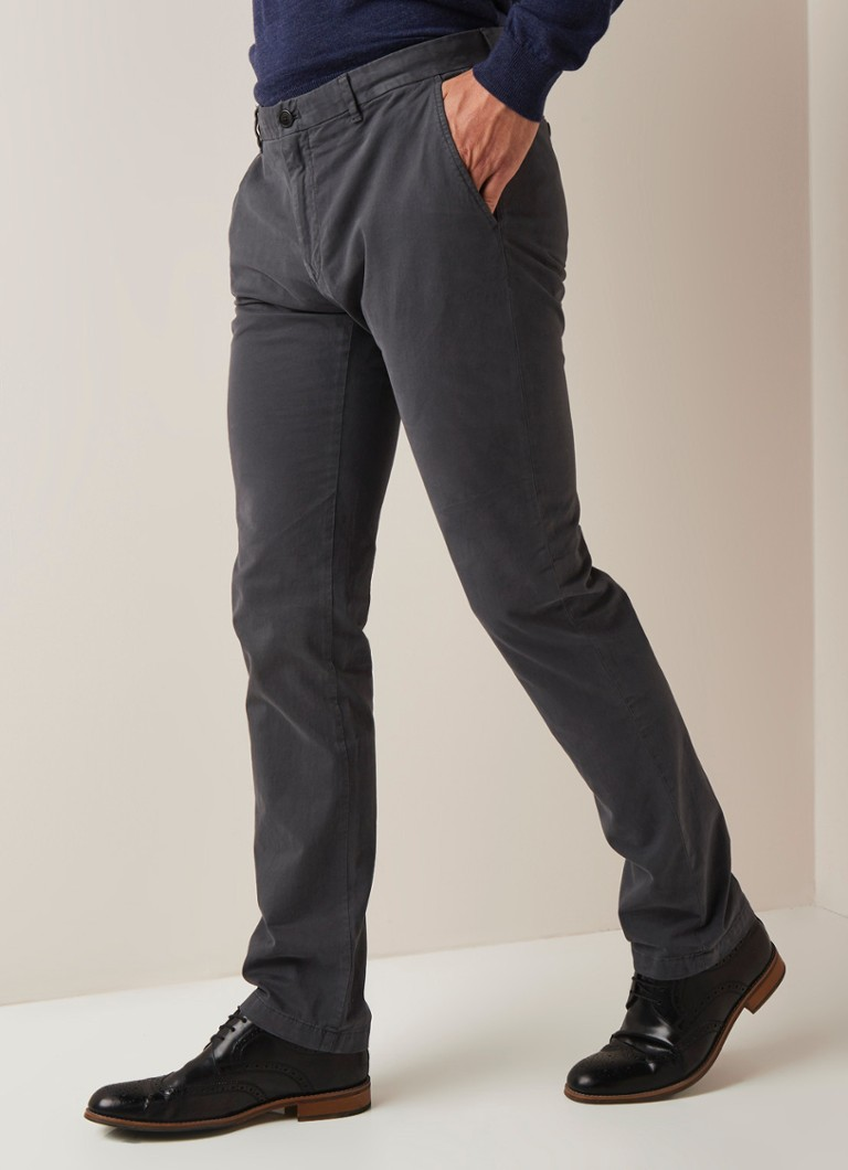 Strellson - Strellson Rypton regular fit chino met stretch - Grijs