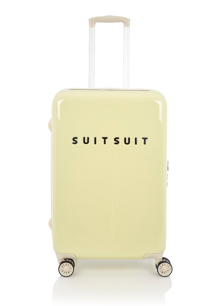 SUITSUIT - Fabulous Fifties spinner 66 cm - Lichtgeel