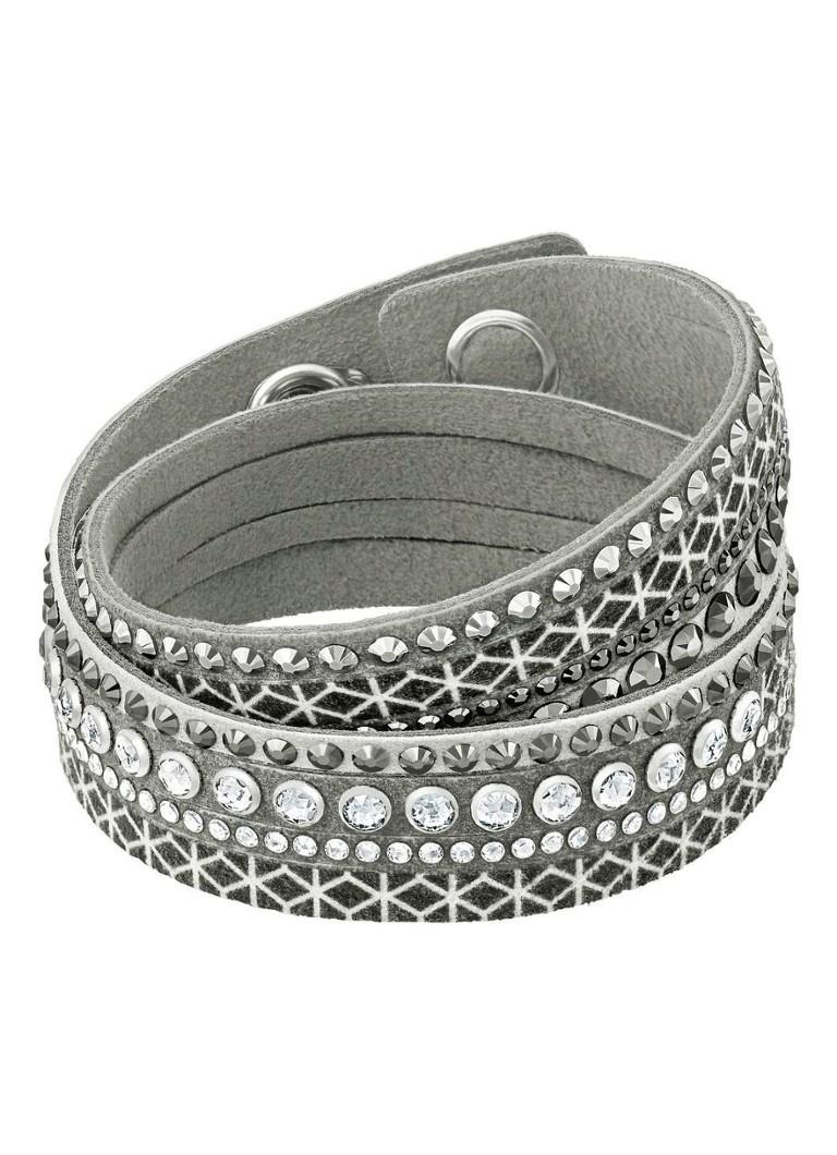 swarovski armband slake de bijenkorf. Black Bedroom Furniture Sets. Home Design Ideas