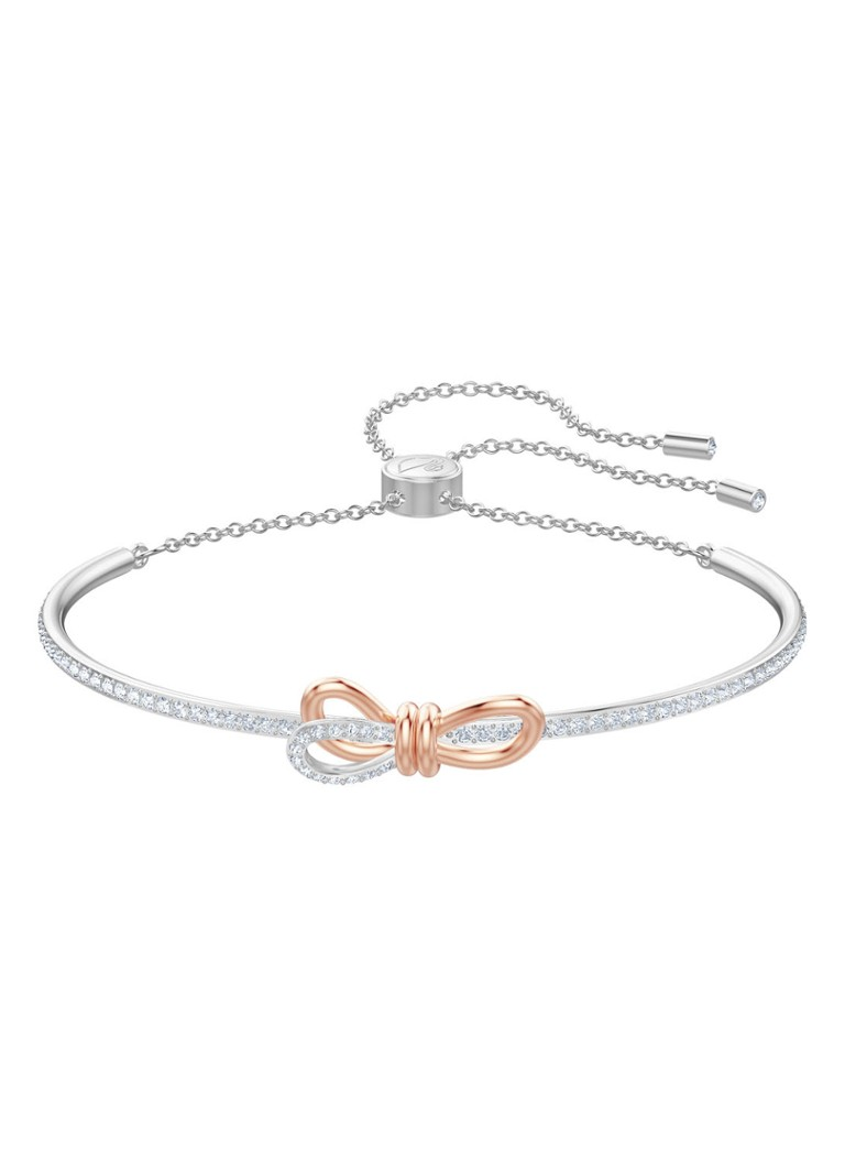 Swarovski - Bangle Lifelong Bow - Zilver