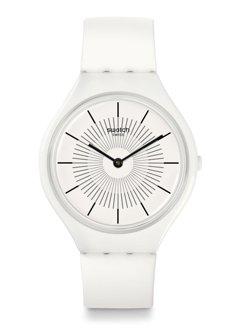 Swatch - Horloge Skinpure SVOW100 - Wit