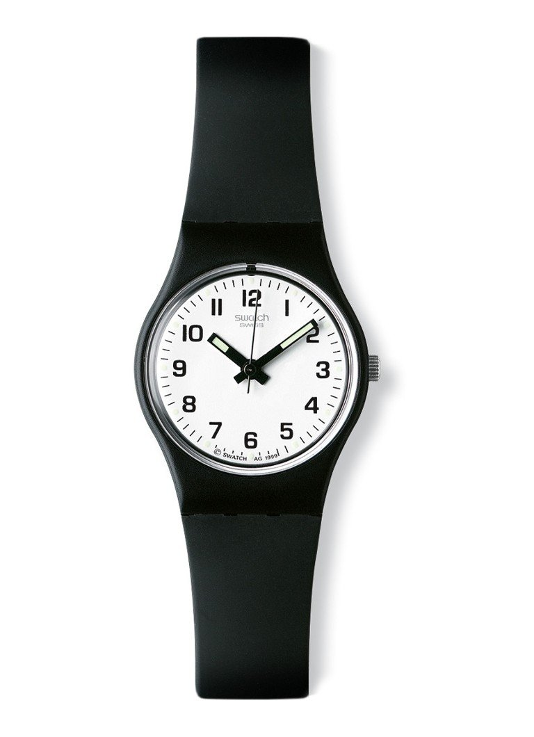 Swatch - Horloge Something New LB153 - Zwart