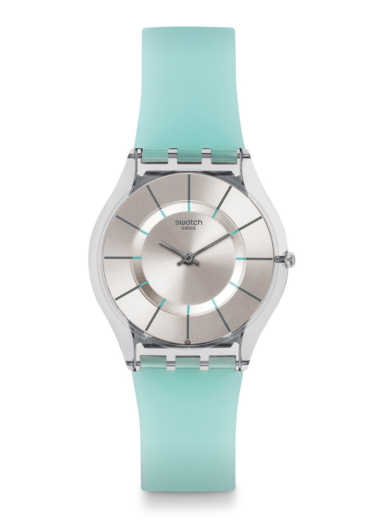 Swatch - Horloge Summer Breeze SFK397 - Zilver