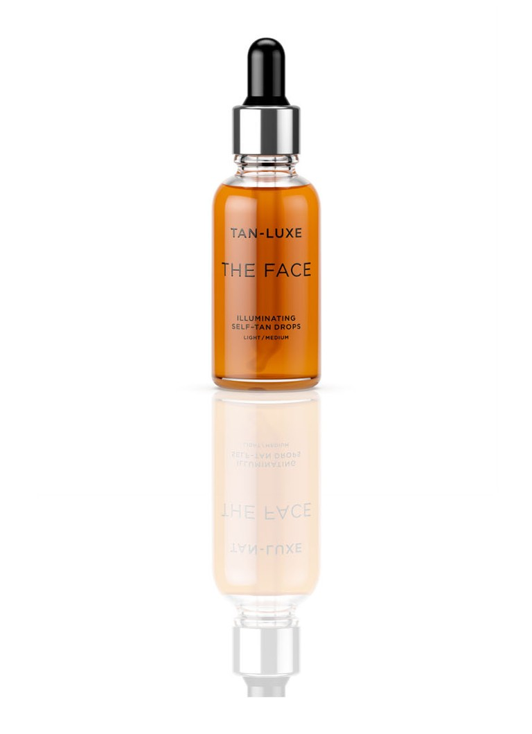 Tan-Luxe - The Face Illuminating Self Tan Drops - Limited Edition zelfbruiner - Light/Medium