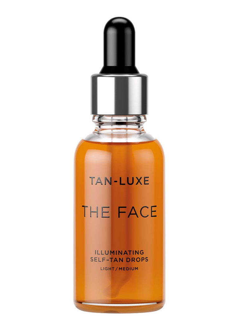 Tan-Luxe - The Face Illuminating Self-Tan Drops - zelfbruiner - Light/Medium