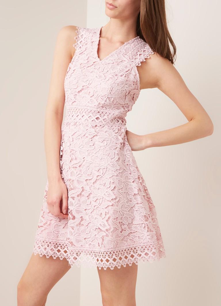 808da196031edd Ted Baker Beniel mouwloze mini-jurk van kant • de Bijenkorf