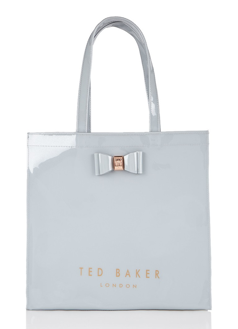 ted baker bethcon shopper met strikdetail de bijenkorf. Black Bedroom Furniture Sets. Home Design Ideas
